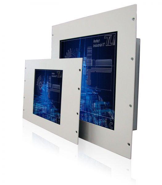 11-Front-right-WM12-6HE+WM17-9HE / TL Produkt-Welten / Industriemonitor / 19-Zoll Rack Mount / ohne Touch-Screen