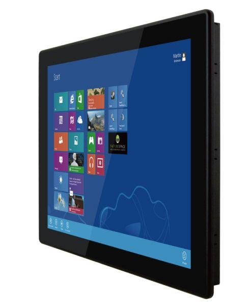 01-Front-right-R19IKWS-MHA1 / TL Produkt-Welten / Panel-PC / Panel Mount (Einbau von vorne) / Multitouch-Screen, projiziert-kapazitiv (PCAP)