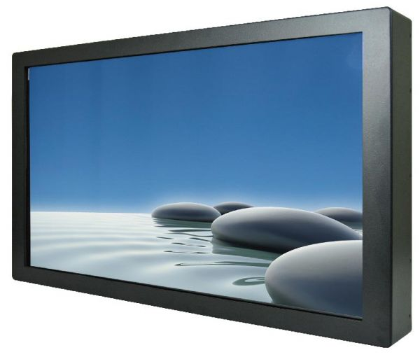 01-Front-right-W27L100-CHA1 / TL Produkt-Welten / Industriemonitor / Chassis (VESA-Mounting) / ohne Touch-Screen