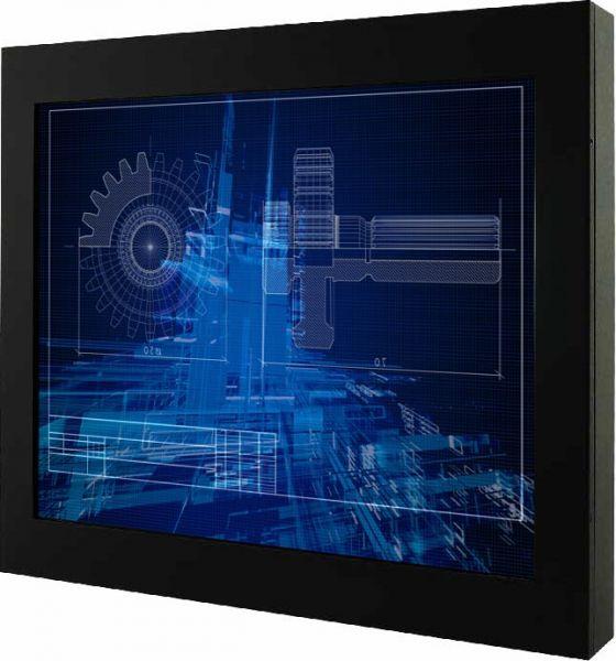 01-Chassis-Industriemonitor /  TL Produkt-Welten / Industriemonitor / Chassis (VESA-Mounting) / Multitouch-Screen, projiziert-kapazitiv (PCAP)