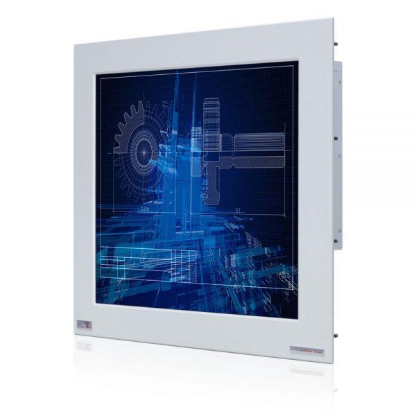 01-Industrie-Panel-PC-WM19PMA-IP65-Einbau / TL Produkt-Welten / Panel-PC / Panel Mount (Einbau von vorne) / Touch-Screen für 1-Finger-Bedienung