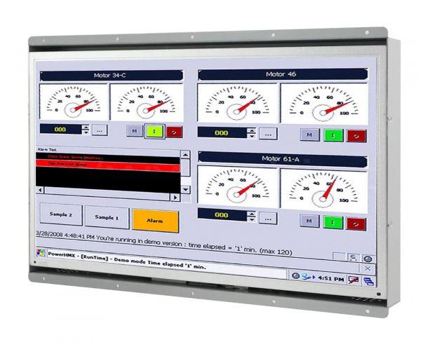 21-Front-right-W15L100-OFA2 / TL Produkt-Welten / Industriemonitor / Open Frame (Einbau von hinten) / ohne Touch-Screen