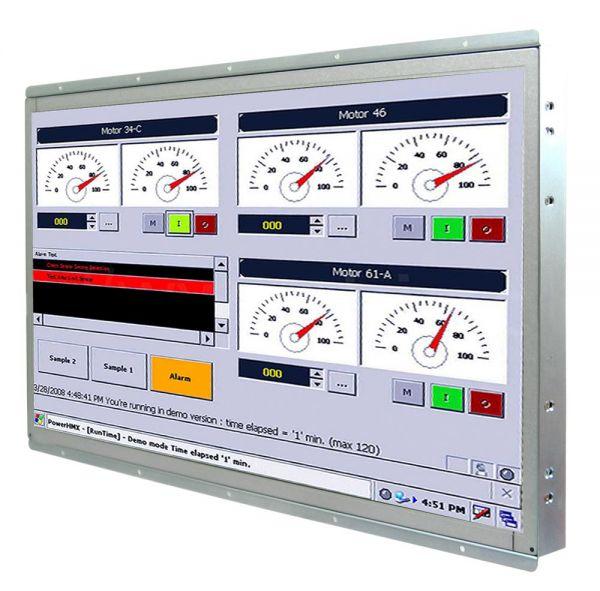 Front-right-WM 22W-IB70-OF-PRS / TL Produkt-Welten / Panel-PC / Open Frame (Einbau von hinten) / Touch-Screen für 1-Finger-Bedienung