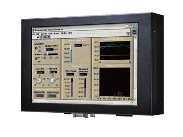 Front-right-WM 10W-V-CH-PRS / TL Produkt-Welten / Industriemonitor / Chassis (VESA-Mounting) / Touch-Screen für 1-Finger-Bedienung