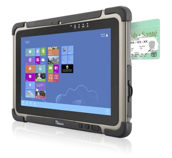 01-Front-right-M101BT / TL Produkt-Welten / Mobile Computing / Rugged Industrial Tablets