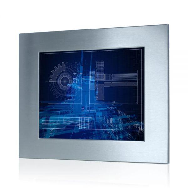 01-Industrie-Panel-PC-WM17PME-Edelstahl-IP65-Einbau