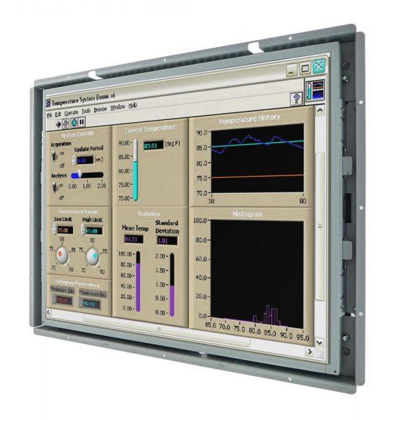 Front-right-WM 19-VDP-OF / TL Produkt-Welten / Industriemonitor / Open Frame (Einbau von hinten) / ohne Touch-Screen