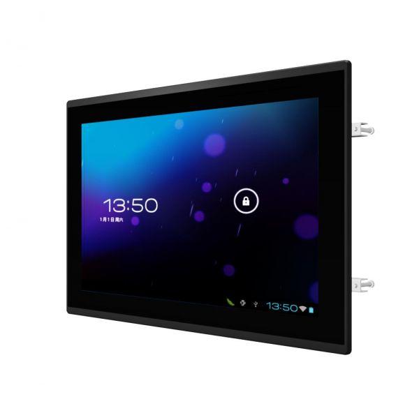 01-Front-right-W15FA3S-ELA4 / TL Produkt-Welten / Panel-PC / Panel Mount (Einbau von vorne) / Multitouch-Screen, projiziert-kapazitiv (PCAP)