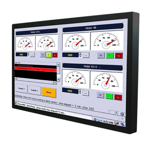 Front-right-WM 22W-IB70-CH-PRS / TL Produkt-Welten / Panel-PC / Chassis (VESA-Mounting) / Touch-Screen für 1-Finger-Bedienung