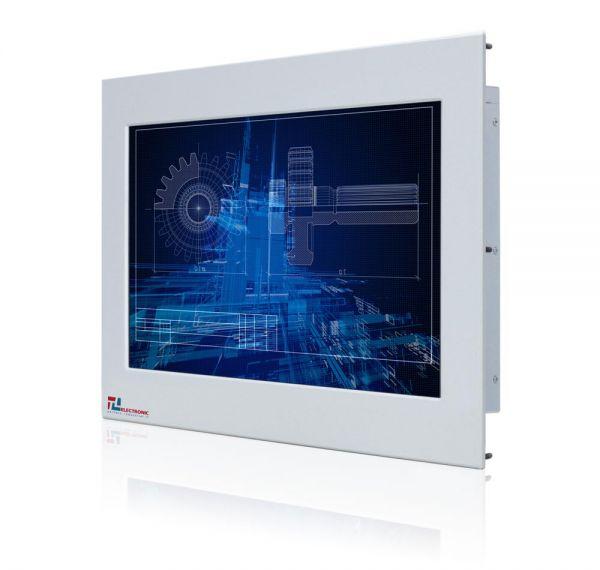 01-Industrie-Panel-PC-WM15WPMA-IP65-Einbau /  TL Produkt-Welten / Panel-PC / Panel Mount (Einbau von vorne) / Touch-Screen für 1-Finger-Bedienung