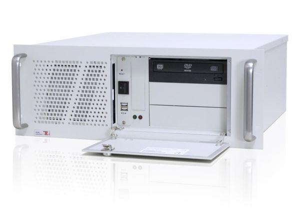 01-Front-right-CL450x / TL Produkt-Welten / Industrie-PC / 19-Zoll Rack Mount / 7 Slots (ATX Mainboard)